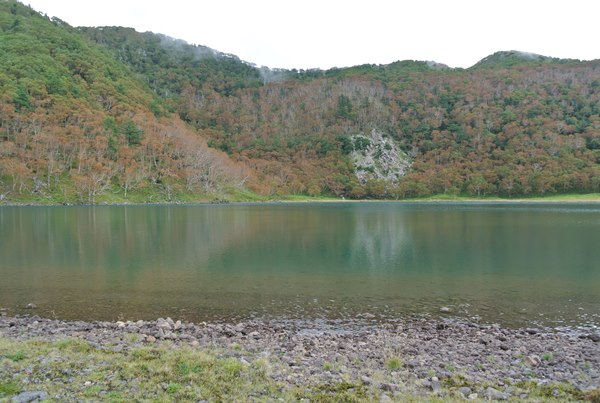 2016年9月3日の栃木県日光の前白根山登る その6五色沼