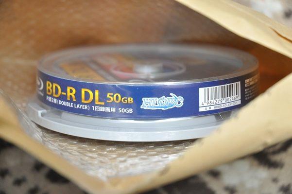 amazonでBD-R50GBを買う