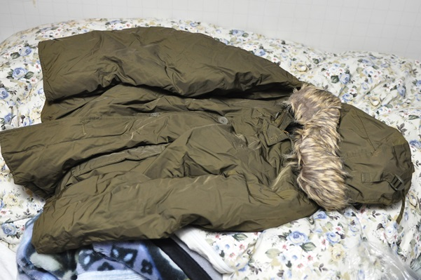 寒いから着なかったコートを出してきた