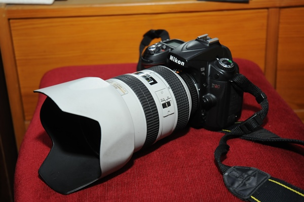 NIKONの28-70f2.8のレンズを他のカメラに付け替えたら、もう使いやすい