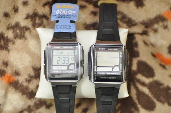 カシオの電波時計(腕時計)をamazonで買う