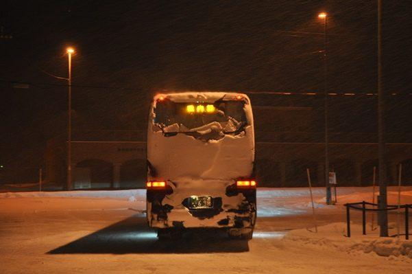 2017北海道好きなら冬に行かないとの5泊6日旅 その7札幌大通バスセンターから稚内フェリーターミナルへ2017年1月30日
