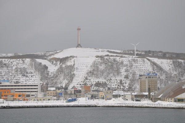 2017北海道好きなら冬に行かないとの5泊6日旅 その14礼文島を出港稚内入港2017年2月1日