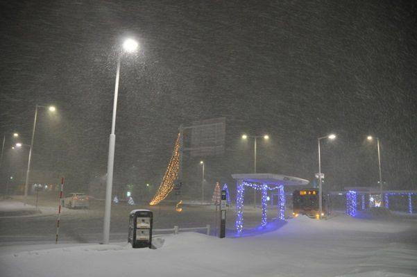 2017北海道好きなら冬に行かないとの5泊6日旅 その19稚内駅で高速バスが来るまで待つ2017年2月1日