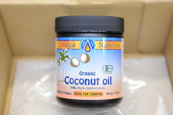 amazonでココナッツオイルを買う