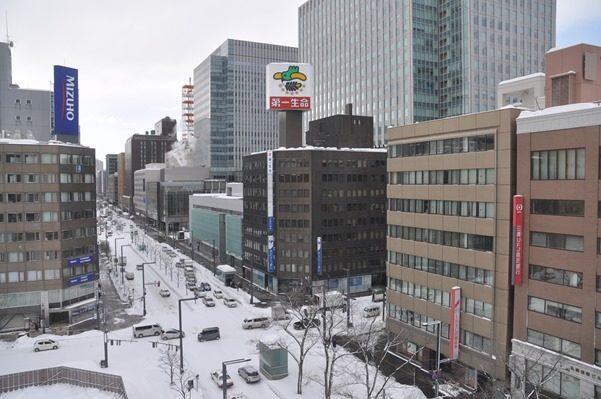 2017北海道好きなら冬に行かないとの5泊6日旅 その20高速バスで稚内から札幌、札幌から苫小牧2017年2月2日