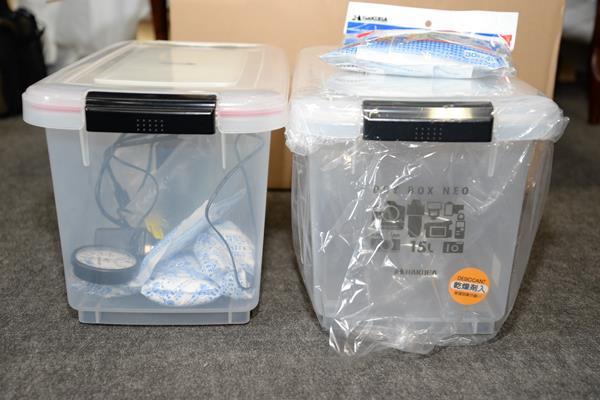 外付けハードディスクの保存用にドライボックスを買う