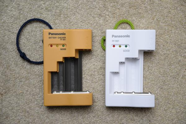 単三のバッテリーチェッカーをamazonで買う