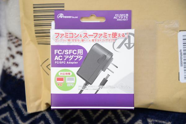 ノイズが出るので、新しいスーパーファミコン用のACアダプターを買う