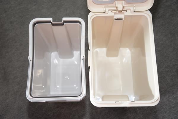 ペダル付きゴミ箱は生活の量で考えましょう